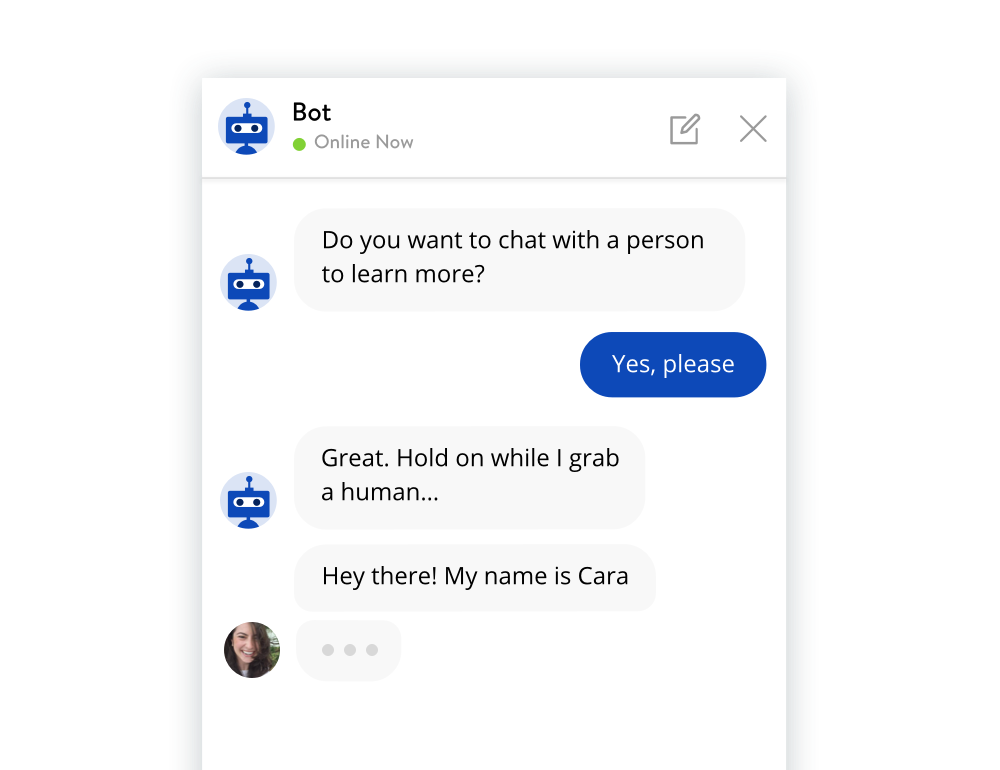 Use the Bot to Qualify Leads & Route Conversations